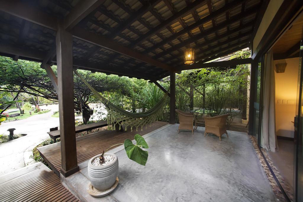 Bangalô com vista para o jardim em Pipa RN